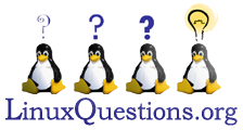 Linux Questions forum link